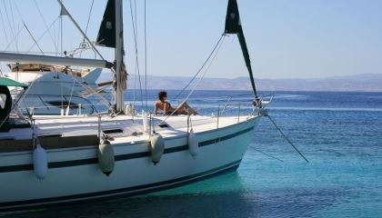 Sailing with us!
